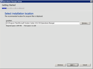 Figure 11. Installation location