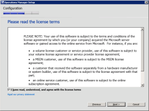 Figure 13. License Terms