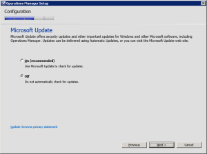 Figure 21. Microsoft Update