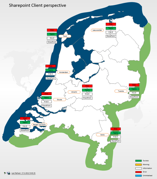 Example Dashboard Nederland